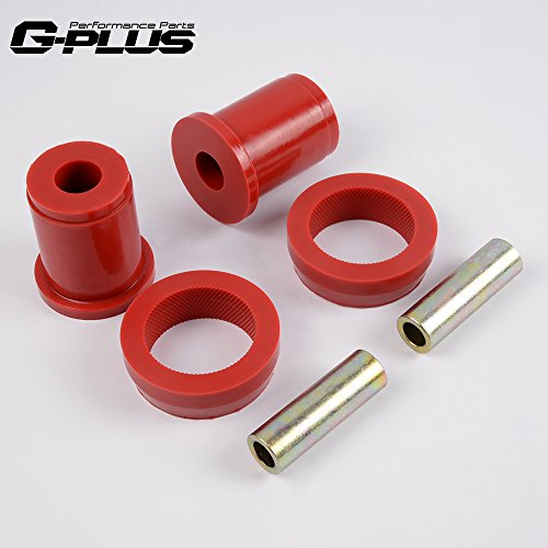 Red Rear Lower Control Arm Bushing For 79-04 Ford Mustang -