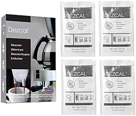 Urnex Dezcal Coffee and Espresso Descaler and Cleaner - 4 Uses - Activated Scale Remover Use With Home Coffee Brewers Espresso Machine Pod Machine Capsule Machine Kettles Garmet Steamers - 10134599 , B003PSJ7F8 , 285_B003PSJ7F8 , 345600 , Urnex-Dezcal-Coffee-and-Espresso-Descaler-and-Cleaner-4-Uses-Activated-Scale-Remover-Use-With-Home-Coffee-Brewers-Espresso-Machine-Pod-Machine-Capsule-Machine-Kettles-Garmet-Steamers-285_B003PSJ7F8 ,