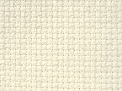 M.C.G. Textiles Fabric for Counted Cross Stitch 16 Count Aida