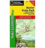 National Geographic Trails Illustrated - Baxter Peak / Mount Katahdin / Katahdin Iron Works - ME