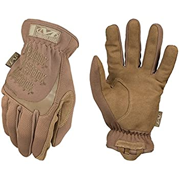 Mechanix Wear - FastFit Coyote Tactical Gloves (XX-Large, Brown)