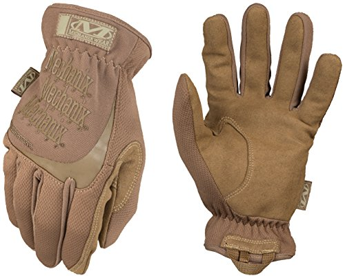 (Mechanix Wear - FastFit Coyote Tactical Gloves (Small,)