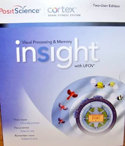 Posit Science Insight Visual Memory Training with UFOV Cortex Brain Fitness system