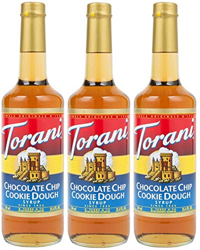 Torani Syrup, Chocolate Chip Cookie Dough, 25.4-Ounce Bottles (Pack of 3)