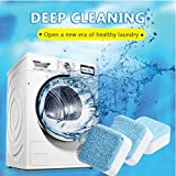 Solid Washing Machine Cleaner, 30 Count Washer