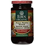 Eden Foods Organic Tomato Products-Pizza Pasta Sauce-Glass, 398ml (Packaging may vary)