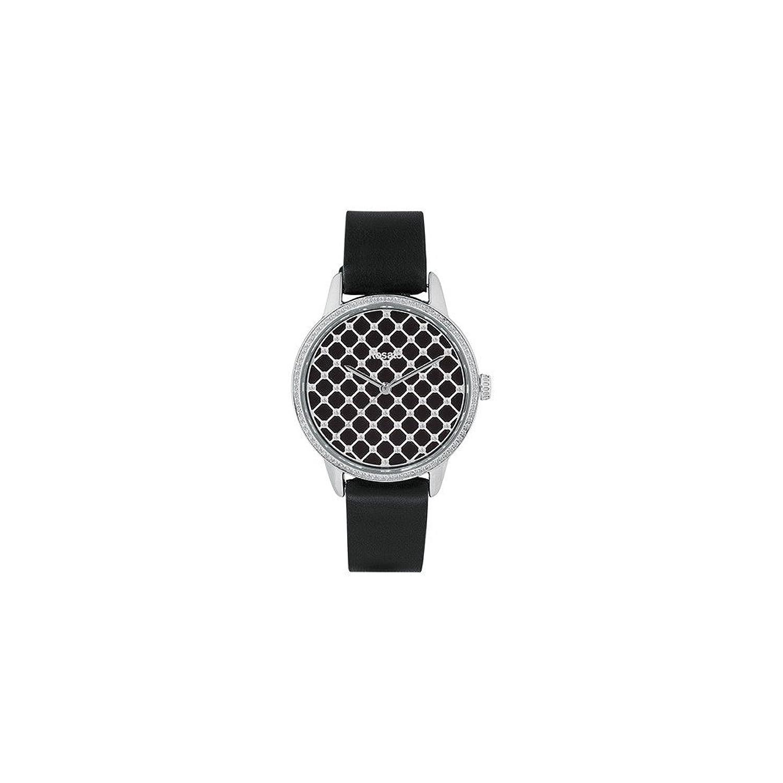Uhr RosÉ Damen rwro02 Quarz (Batterie) Stahl Quandrante schwarz Armband Leder