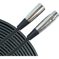 Musician's Gear Standard XLR 20 Feet Microphone Cable (Black)