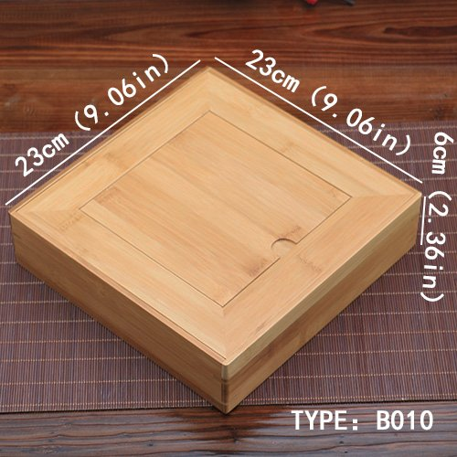 Amazon.com: Wholesale - Handmade Puer Tea Box Bamboo Storage Boxes, 4 Style Eco-Friendly Tea Set Square Puer Tea Tray Handmade Carvings Tea Gifts Boxes ...