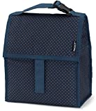 Image of PackIt Freezable Lunch Bag with Zip Closure, Micro Dot