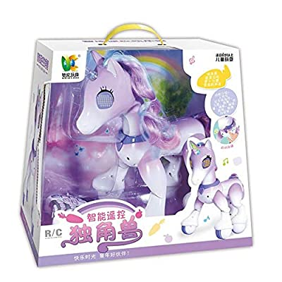 Unicorn Toys -Electric Smart Horse Remote Control Unicorn Children's New Robot Touch Induction Electronic Pet -Educational Toy: Arts, Crafts & Sewing