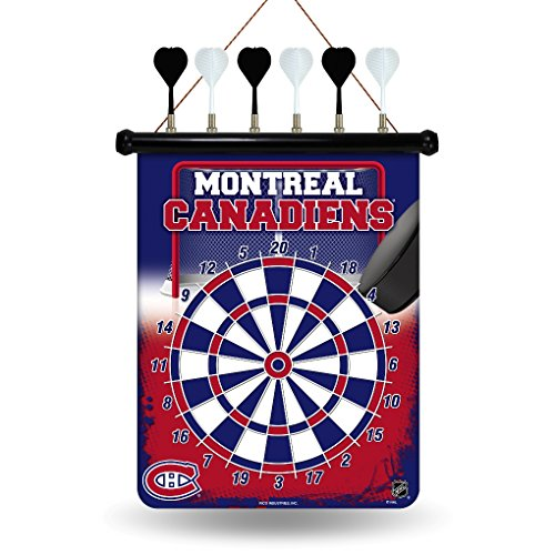 NHL Montreal Canadiens Magnetic Dart Board
