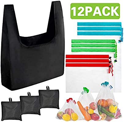 Amazon.com: Bolsas reutilizables para productos de ...