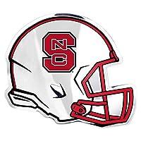 NCAA North Carolina State Helmet Emblem, One Size, One Color