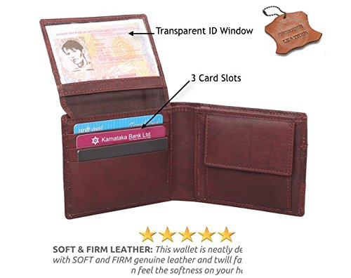 b08bd0aa6e951 Omax Brown Men s Wallet  Amazon.in  Bags