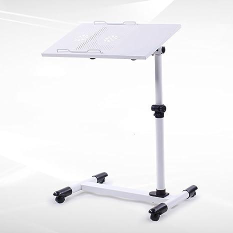 LSFF Forma compacta, Ruedas fáciles de Mover Mesa de Cabecera Rotación Vertical Elevador Móvil Ordenador