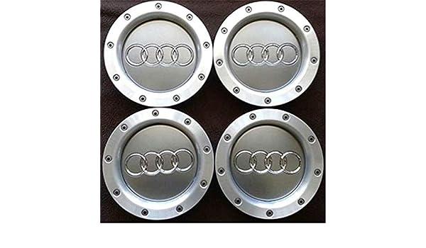 fanlinxin - 4 tapacubos para Audi A3 A4 A2 TT, 146 mm, 8D0601165K: Amazon.es: Coche y moto