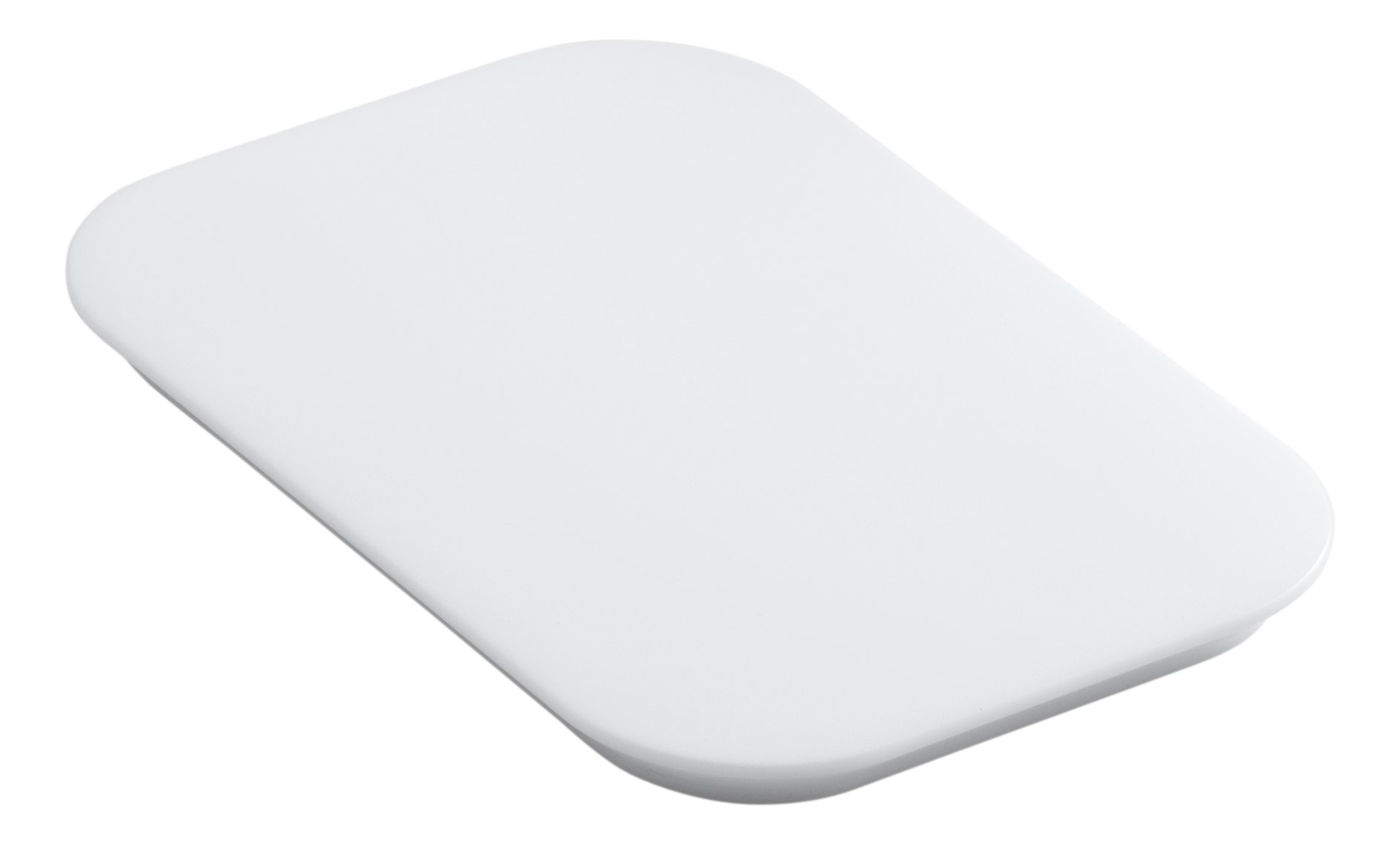 KOHLER K-5836-0 Bakersfield Polyethylene Cutting Board, White by Kohler