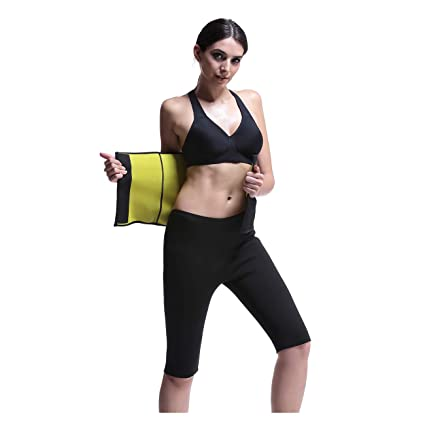 6669dfd1c6 RoseJeopal Sauna Waist Belt hot Sweat Neoprene AB Slimming Belt for Women  Belly Fat Burner