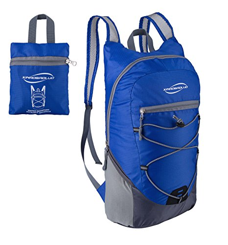 Dh Backpack (DH-S 20L Lightweight Durable Packable Outdoor Travel Hiking Backpack Casual Daypack (Navy Blue))