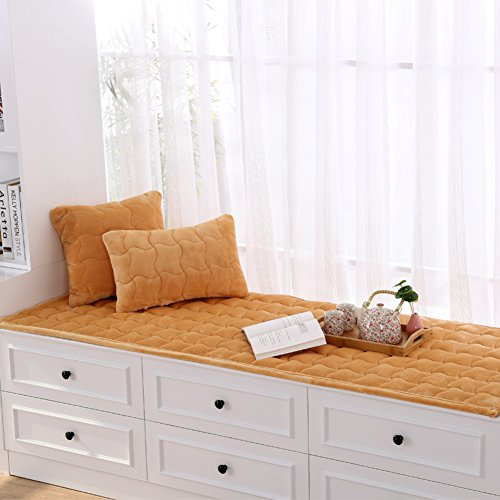 - SGDSTGGDFH Thick Plush Float Window mat Window mat Garden Non-Slip Tatami Cushion Bay Window Blanket Balconies mats-C 60x180cm(24x71inch)