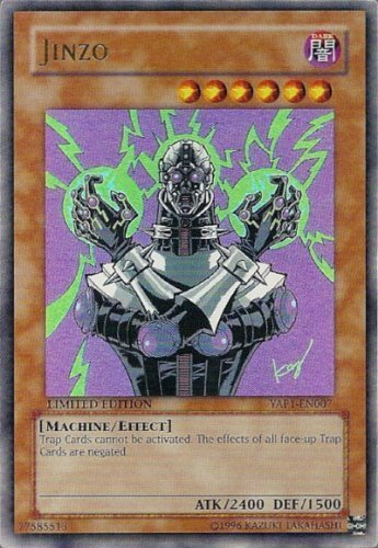 Yu-Gi-Oh! - Jinzo (YAP1-EN007) - Anniversary Pack - Limited Edition - Ultra Rare