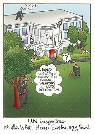 White house egg hunt designer greetings funny easter card amazon white house egg hunt designer greetings funny easter card m4hsunfo