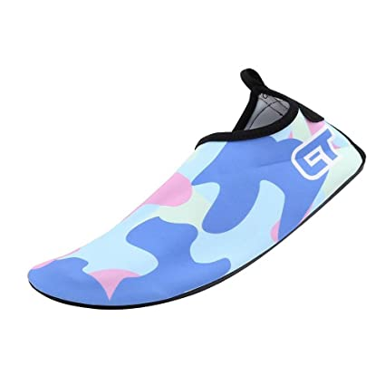 Mutifunctional Barefoot Shoes Quick-dry Water Shoes with Carry Bag Anti-skid Aqua Socks with Rubber Sole for Driving Exercise Beach Swimming Yoga Snorkeling Surfing Garden for Men & Women & Kids