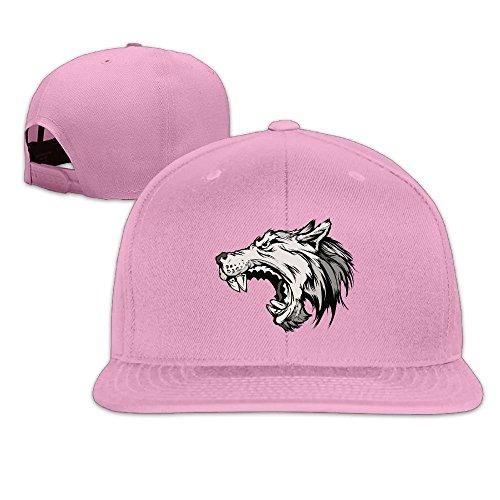 Hex Frame Clip (Ghtrh Wolf Dreams Lovely Cap Unisex Cotton Hat For Men & Women Pink)