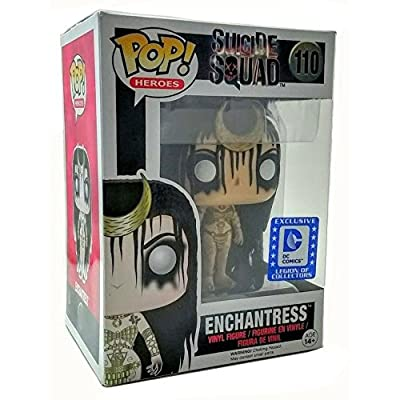 Funko Pop Heroes Suicide Squad Enchantress DC Legion of Collectors Exclusive Vinyl Figure 110: Toys & Games