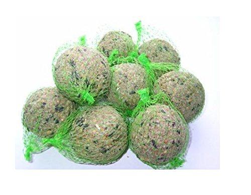 FAT BALLS WILD BIRD FOOD IN BUCKET - BALLS NETTED 50/100/150/200 (50) LEEWAY