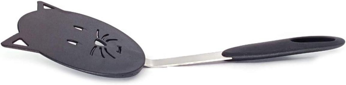 OUMOSI Nylon Cooking Spatula Long Handle Kitchen Spatula for Non-Stick Cookware