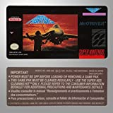 """""""Aero Fighters"""" Super Nintendo Reproduction Label - Includes One Back Label"""