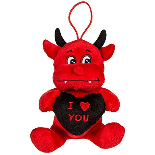 valentines plush devil - 3