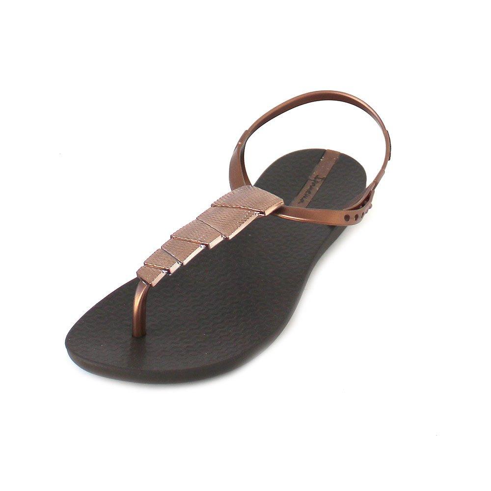 Ipanema Damen Charm V Sand Fem Zehensandale  41/42 EU|Brown-brown-bronze (82283-8864)