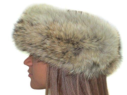 Natural Coyote Headband (Coyote Fur Headband)