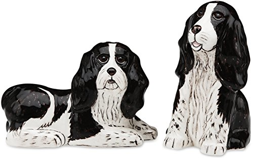 Rescue Me Now Spaniel Dog Salt and Pepper Shaker Set by Rescue Me Now