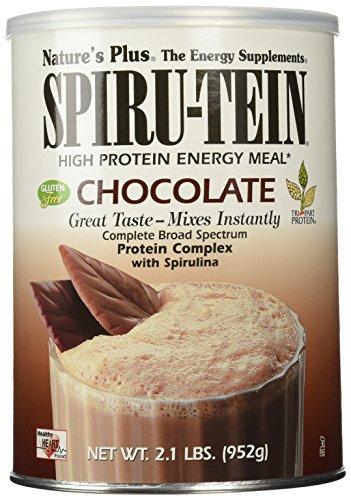 Nature's Plus Spirutein Chocolate Supplement, 2.1 Pound