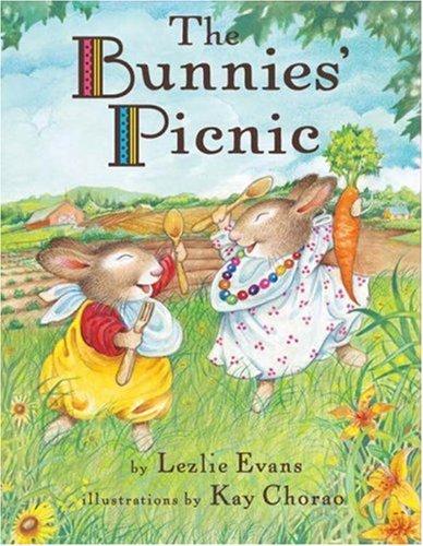 Bunnies Pique - The Bunnies' Picnic