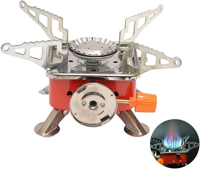 Hihey Cocina de Gas Mini Cocina Horno de Camping Mini Horno ...