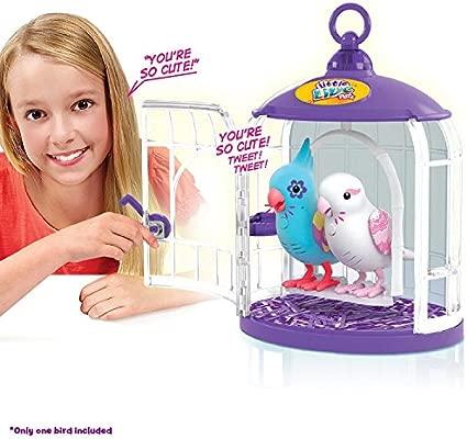 Little Live Pets Bird - Jaula S3 Bella Rina (color blanco): Amazon ...