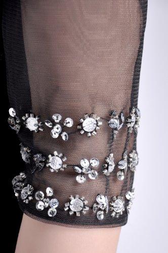 Tulle 2 Sleeves Baby 1 Pink Sleeves Black Straps Natrual 2 Little V neck Dress xwYXrYAB