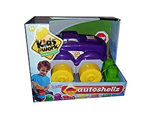 Kids@Work Autoshellz Purple Car Stacking Blocks Set by Kids@Work