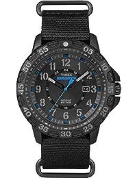 Timex Men's Outdoor Quartz Analog Black Watch