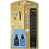 Monster Cable Gold Home Theater Kit, Includes Gold PowerCenter, 9' Gold HDMI Cable, 60ML ScreenClean and 60ML CleanTouch