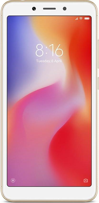 Xiaomi Redmi 6 Dual SIM 32GB 3GB RAM Oro SIM Free [versión española]: Xiaomi: Amazon.es: Electrónica