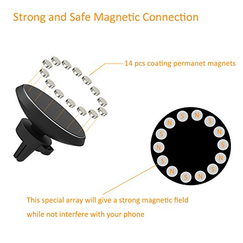Magnetic-QI-Wireless-Car-Charger-Mount-Neotrix-Mobile-Cell-Phone-Air-Vent-Magnet-Car-Cradle-Charging-Holder-for-Samsung-Galaxy-Note-8-S8-Plus-S7-S6-Edge-Note-5-and-Others-Qi-Enabled-Phones