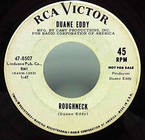 DUANE EDDY ROUGHNECK / MOON SHOT 45 rpm single