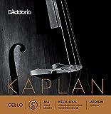 D'Addario Kaplan Cello Single C String, 4/4 Scale, Medium Tension