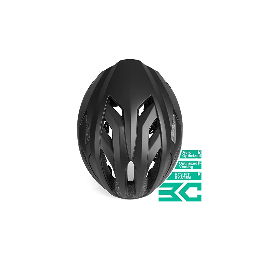 Base Camp ACE II Road Bike Helmet for Adult Cycling Adjustable M L Size 22 24.5 Inches